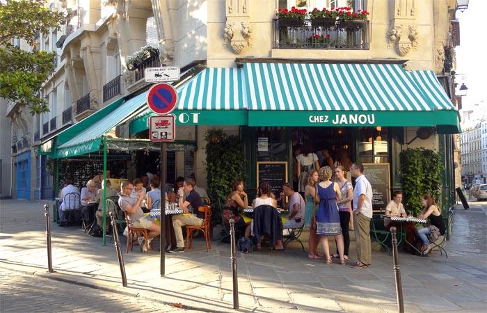 Chez Janou, restaurant provençal 75003