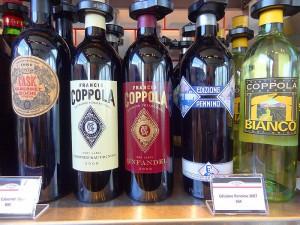 les vins de coppola